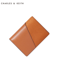 Charles&keith Short Wallet CK6-50700548 2018 new Multifunctional coloring wallet