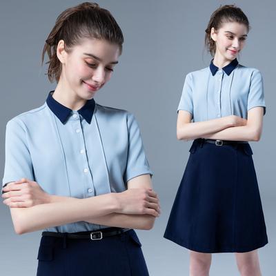职业套装女夏季商务时尚套裙公务员面试高端气质女神范正装工作服