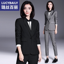 Lux Belle suit suit women's professional wear new tooling fashion in spring and autumn 2019 casual formal suit