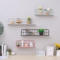 收纳桶置物架办公书房书架墙上厨房北欧未默集舍ins笔筒铁艺