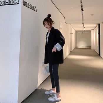 2019秋季新款韩版宽松小西装女西服