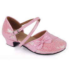 Women's shoes shoes children ZhongTong cuhk children's Latin dancing shoes fashionable shoes 24 - small yards plus-size of 40 yards