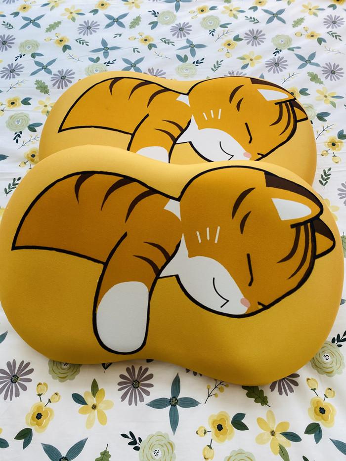 肚皮枕芯  美妆蛋枕芯  护颈枕成人枕头星星冰箱容易漂洗多层