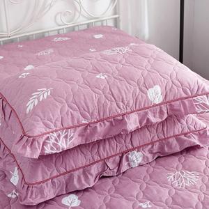 纯棉夹棉加厚一对装大号成人罩枕芯