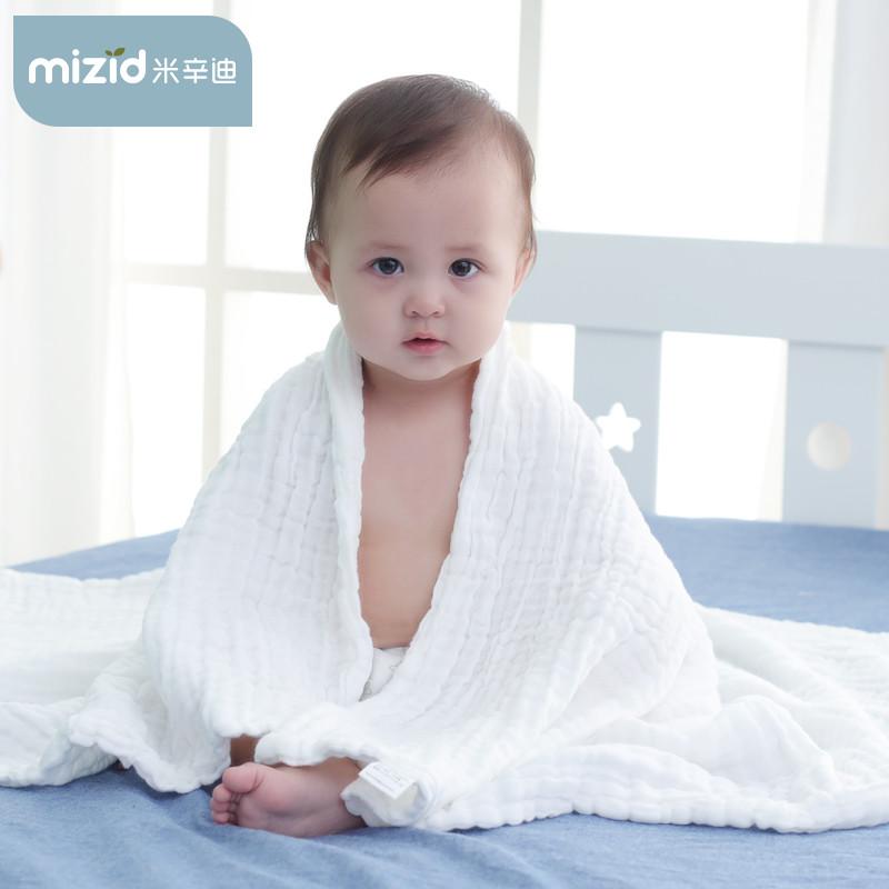 热销664件假一赔三纯棉秋冬款纱布超柔吸水新生的浴巾