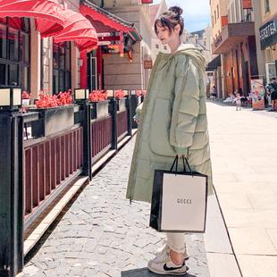 面包服反季羽绒棉衣棉服女韩版宽松冬季外套中长款棉袄2021年新款