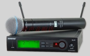 SHURE SLX24 BETA58A UHF wireless microphone factory direct sale wholesale free lifetime warranty