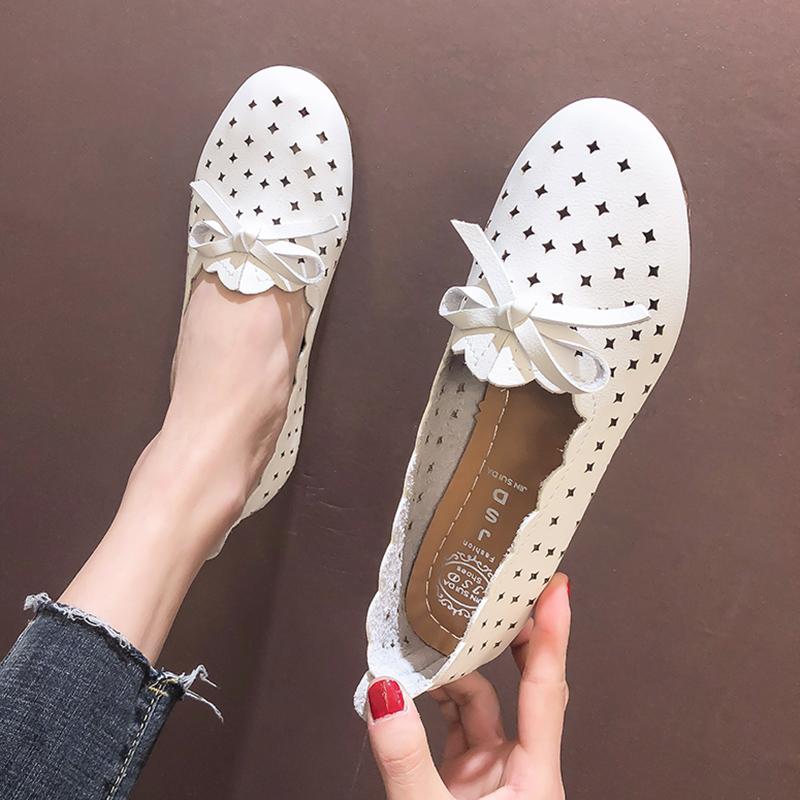洞洞鞋女2019夏季新款镂空网红学生一鞋两穿平底防滑软底妈妈凉鞋