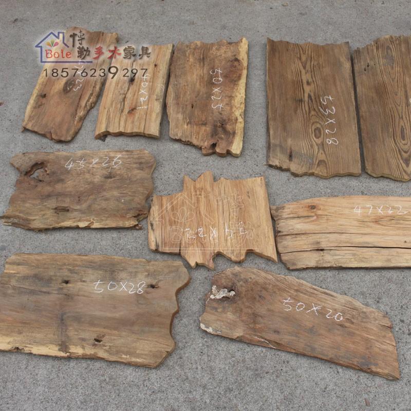实木旧烂板风化老樟木小板老不做漆