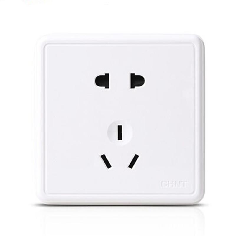 正泰电工 正品开关插座 NEW1C 电源插座 明插座 明装五孔电源插座