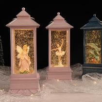 水晶球音乐盒八音盒送女生女孩儿童生日快乐圣诞礼物大耳狗jarll