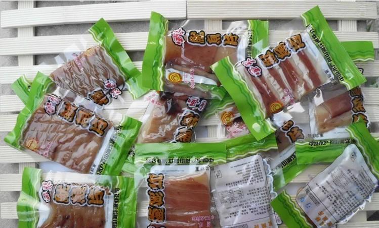 特价包邮 浙江特产 舟山海鲜明珠风琴鱿鱼片500g 独立小包装即食