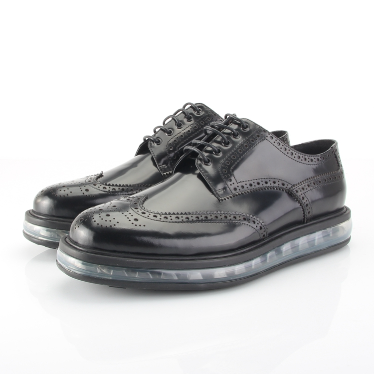 P family leather air cushion British block patent leather thick soled low top shoes Oxford Shoes high leather shoes 2ee098 mens shoes
