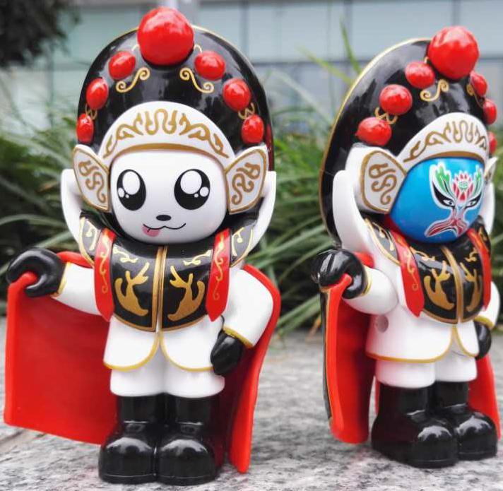 Аутентичные новые модель река драма facebook изменение лицо кукла три страны кукла куклы украшение провинция сычуань чэнду творческий декомпрессия игрушка
