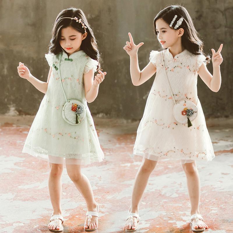 5夏装4公主11夏天6 7 8连衣裙子