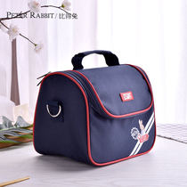 Compared to rabbit lunch box portable bag oxford cloth bag thickening multifunctional bento bag with rice bag fresh insulation bag