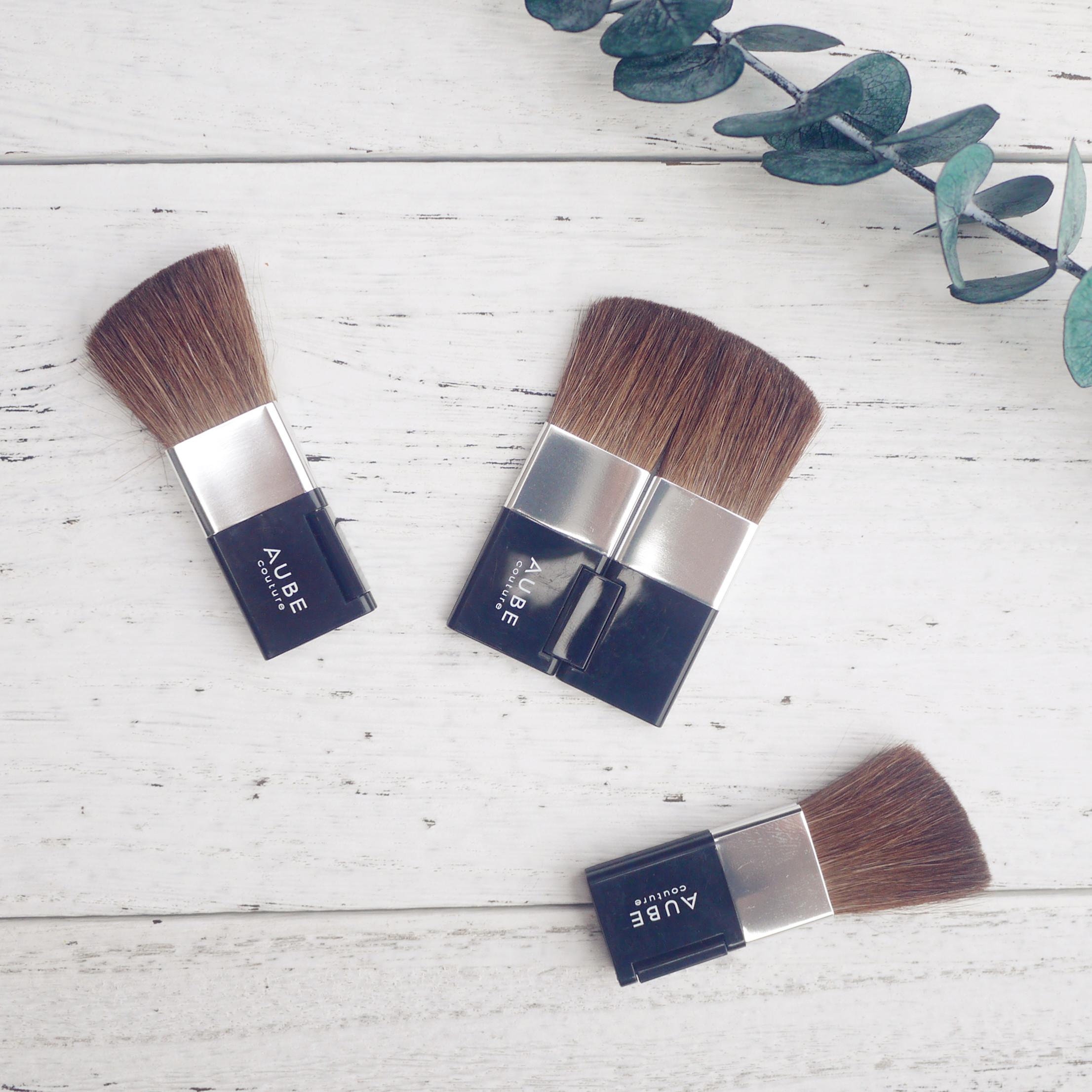 New authentic Japanese original single folding professional makeup brush foundation brush, blush brush powder brush 07
