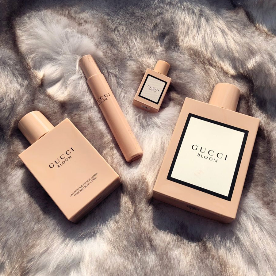 古驰2017新香Gucci香水Gucci bloom 花木混合香水100ML 礼盒套装