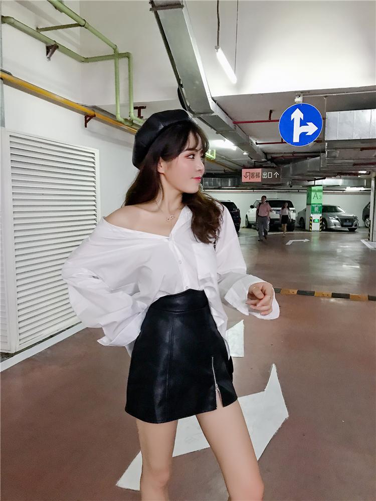 Korean womens fashion in spring and Autumn