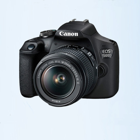 Canon / Canon eos1500d 18-55 entry level photography HD Digital Tourism student SLR camera