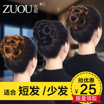 Bud head Meatballs Hair Clip nine flower grip chuck jewelry simulation fake contract plate hair jewelry Disc