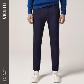 vicutu /威可多商场同款男士休闲裤