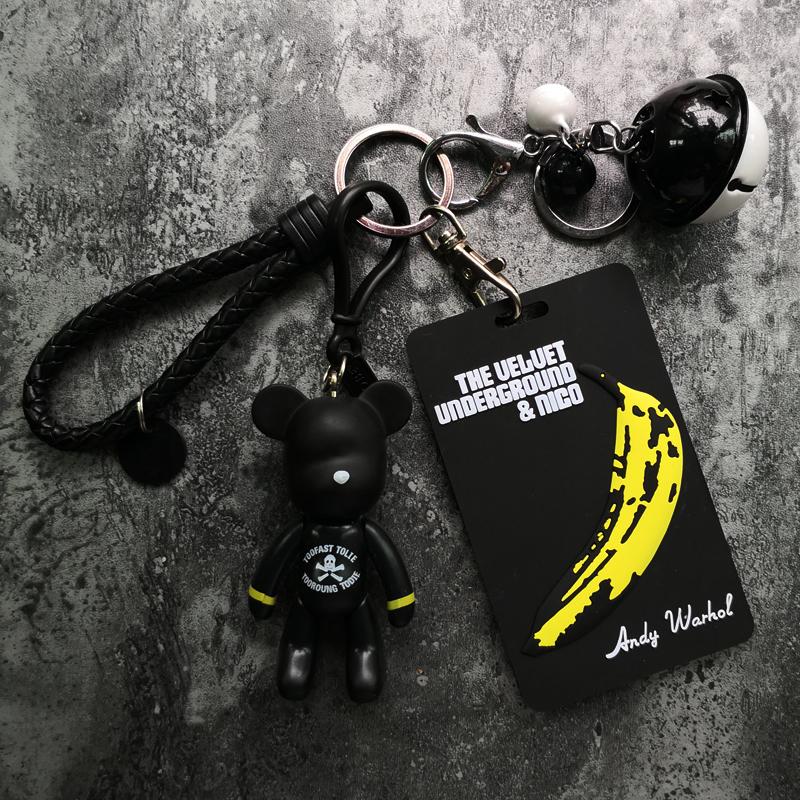公交卡套钥匙扣韩国创意学生情侣饭卡门禁地铁交通卡软硅胶保护套 Изображение 1