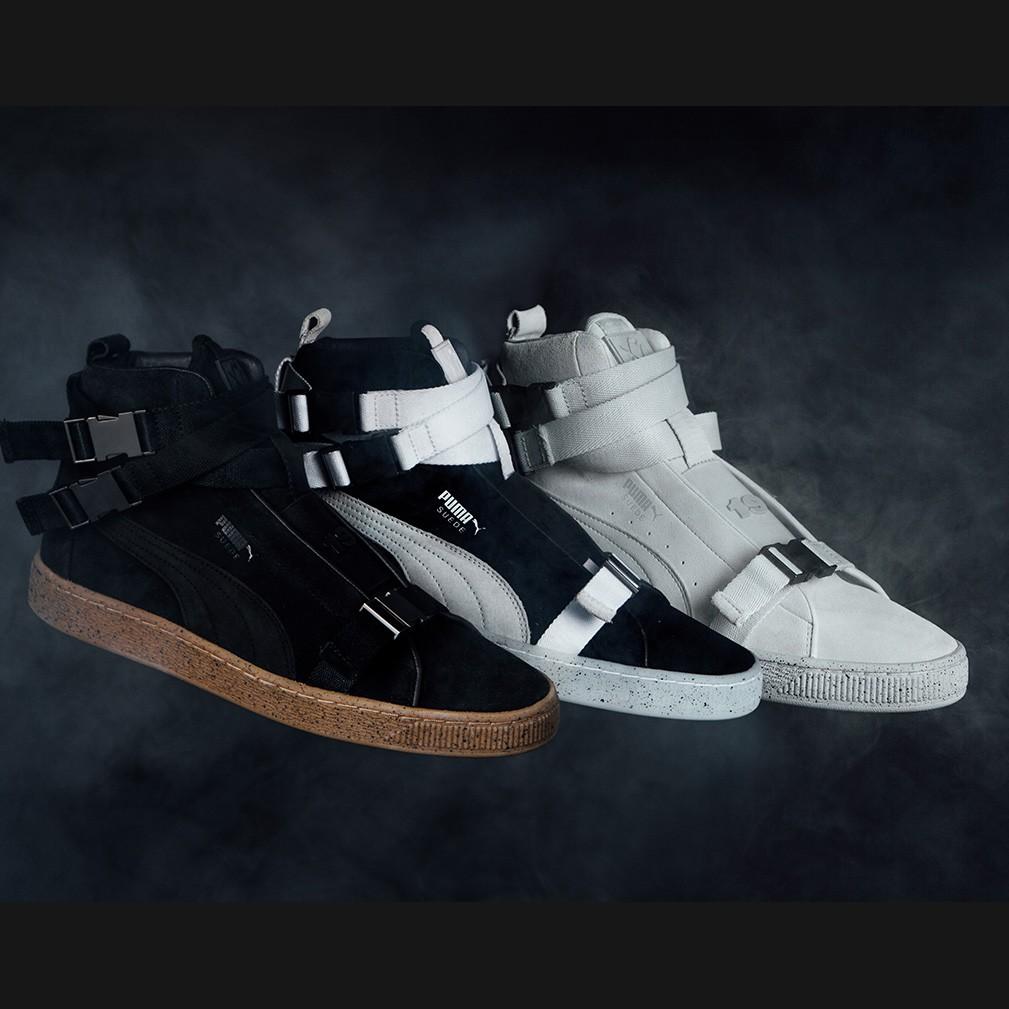 美国代购 PUMA x XO Suede Classic彪马联名经典高帮搭扣男休闲鞋