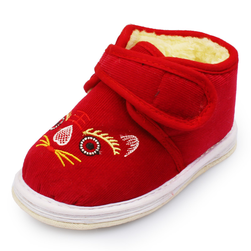 唐裝鞋 布鞋兒童童鞋男童女童千層底單鞋寶寶學步鞋 虎頭鞋