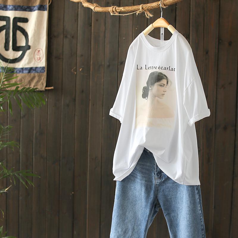 热销38件买三送一西缺原创纯棉短袖t恤女秋装打底衫