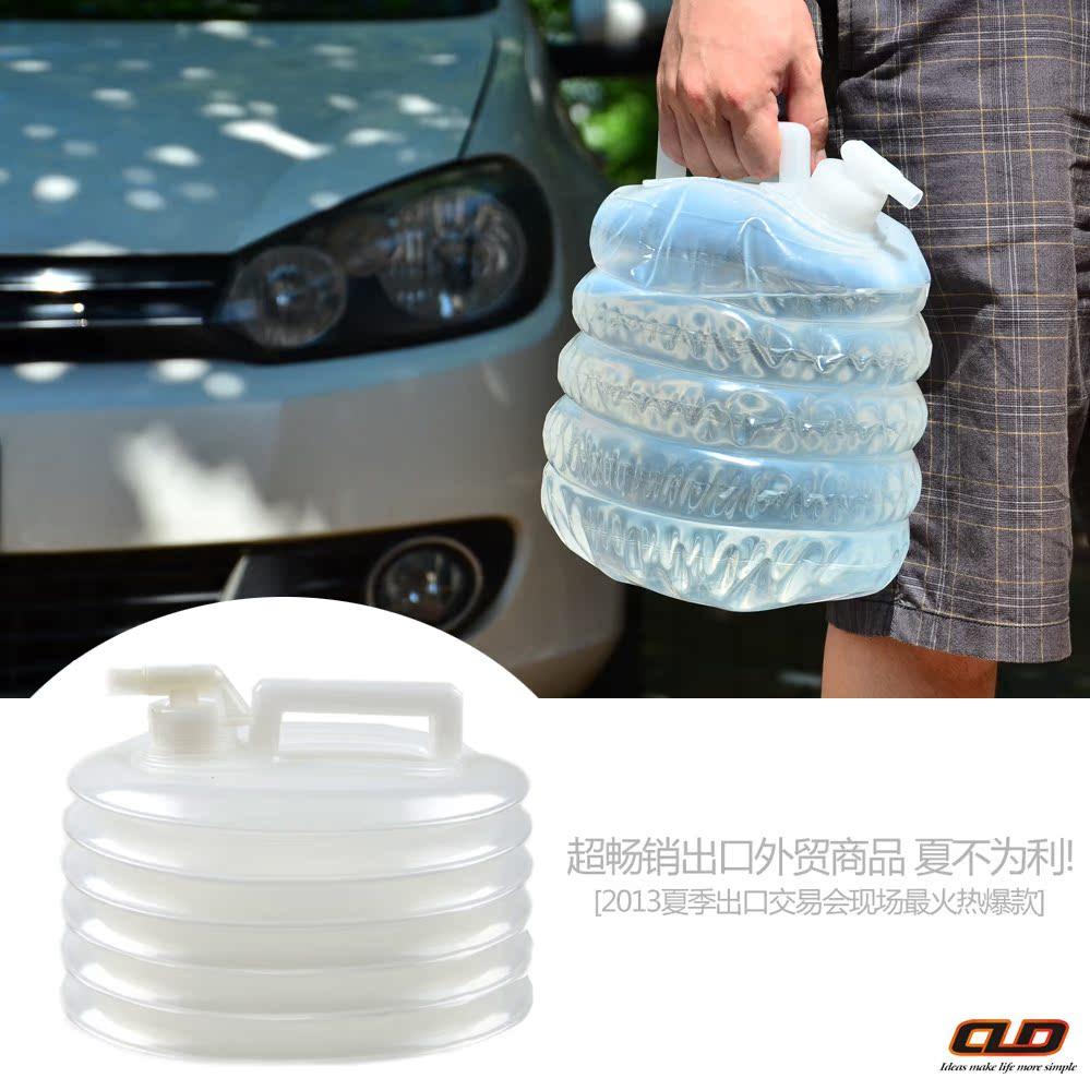 Портативный открытый кемпинг чайника Авто складные ведро хранения ведро вождения автомобилей Аксессуары для автомобилей