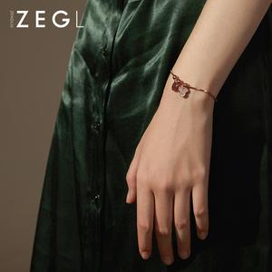ZENGLIU鼠年本命年手链女ins小众设计韩版个性网红简约米奇手饰品
