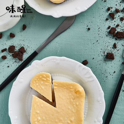 味醒纽约芝士蛋糕cheese cake重乳酪100克/盒现做糕点甜点