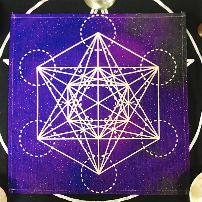 Фестиваль алтарь ткань скатерть пять ость звезда жизнь цветок лотос импульс круглый дух секс украшение магия инструмент стиль инструмент