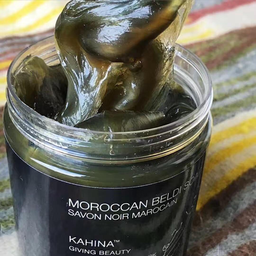 团购 摩洛哥黑皂 黑泥 黑肥皂 500g 滋润肌肤 去死皮 国内现货