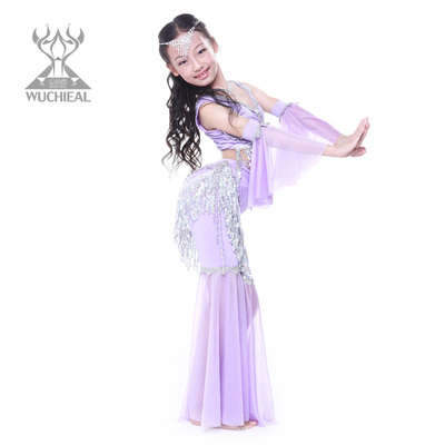 be9d7b4374dd Dance wing Children s belly dance costumes autumn new fund ...