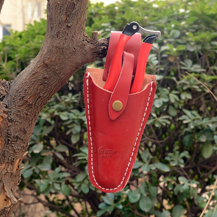 修枝剪套果树剪保护套皮套布套剪刀专用套园林工具花木剪套腰袋