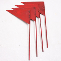 Triangle Small Iron flag Javelin flag flag sign track and field flag shot throw distant flag