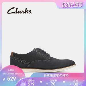 领50元券购买clarks其乐男鞋正装皮鞋男舒适潮流英伦商务德比鞋Franson Plain