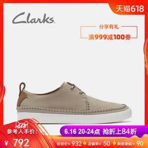 领150元券购买clarks其乐19新款夏季透气运动皮鞋