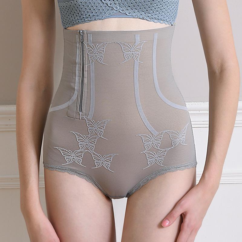 高腰产后收小肚子瘦身肚腩神器收腹内裤女收胃提臀束腰塑形塑身裤