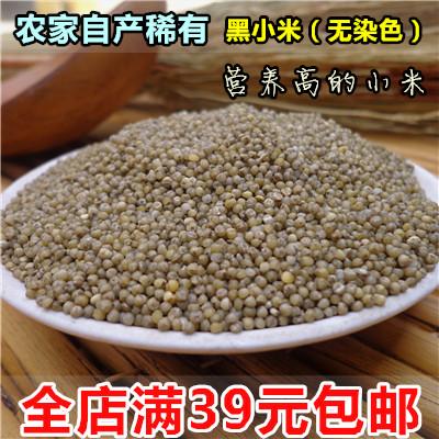 黑小米 黑色小米 新货月子米 小黑米五谷杂粮 煮粥粗粮 250g新货