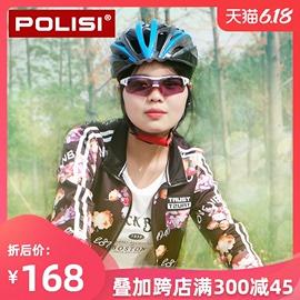 POLISI专业骑行眼镜男女透明变色防风近视户外跑步运动太阳镜装备图片