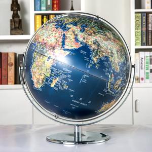 天屿45cm大号高清复古立体地球仪