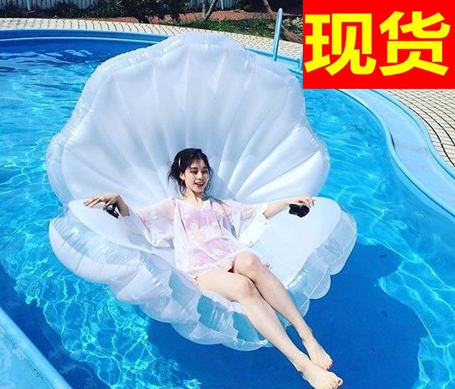 На наличый товар доставка включена подлинный негабаритный русалки вентилятор оболочка водный газированный крепления поплавок кровать плавающий плавательные круги плавать оборудование