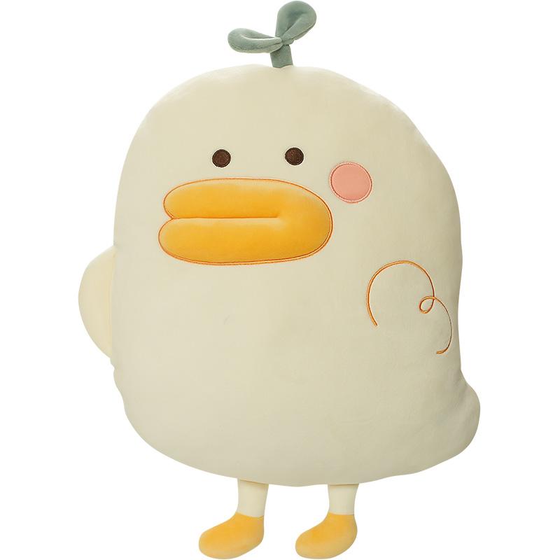 网红鸭生日礼物毛绒玩具睡觉抱枕质量如何