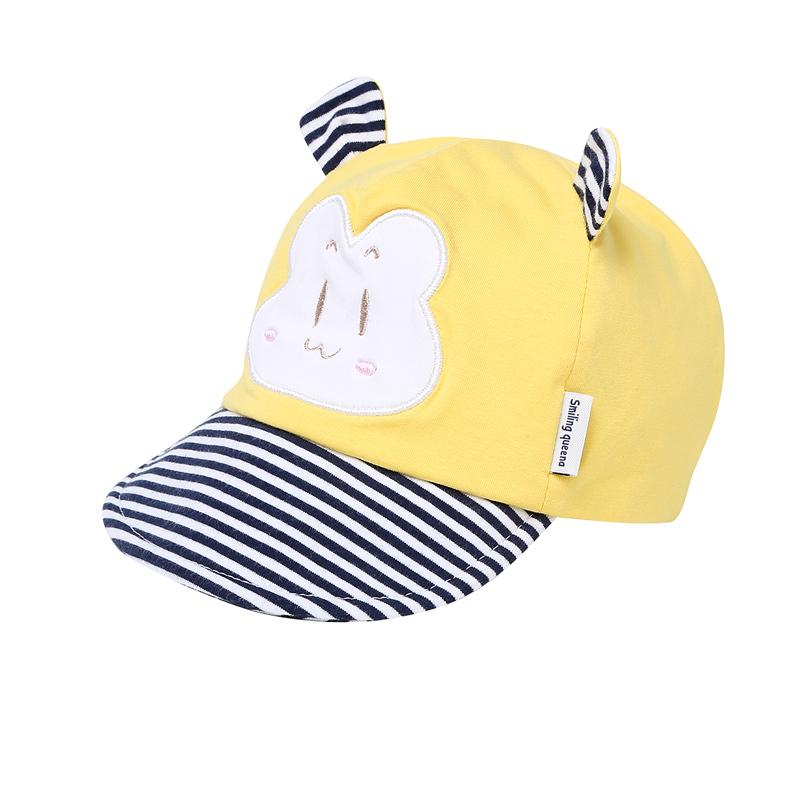 嬰兒新生兒男童 鴨舌帽
