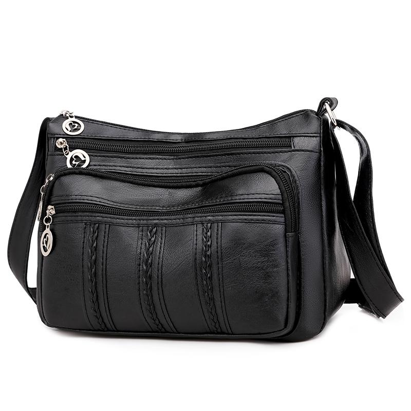 中老年人女包包2020新款大容量单肩斜挎包女士背包中年妈妈软皮包
