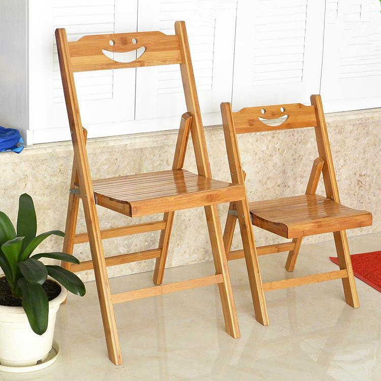 摺疊椅子家用 涼椅攜帶型餐椅竹椅實木休閑釣魚椅兒童靠背椅洗衣