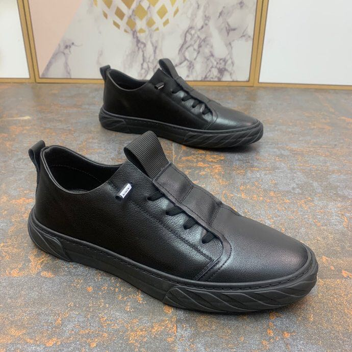 New low top shoes leather top leather leather shoes casual mens shoes fashionable and versatile small ear shoes